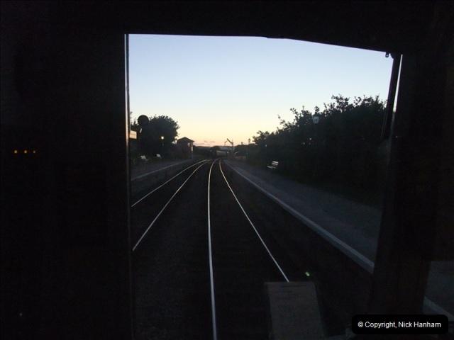 2010-08-23 Driving Late Turn DMU-Bubble Car & Preparation.  (66)124