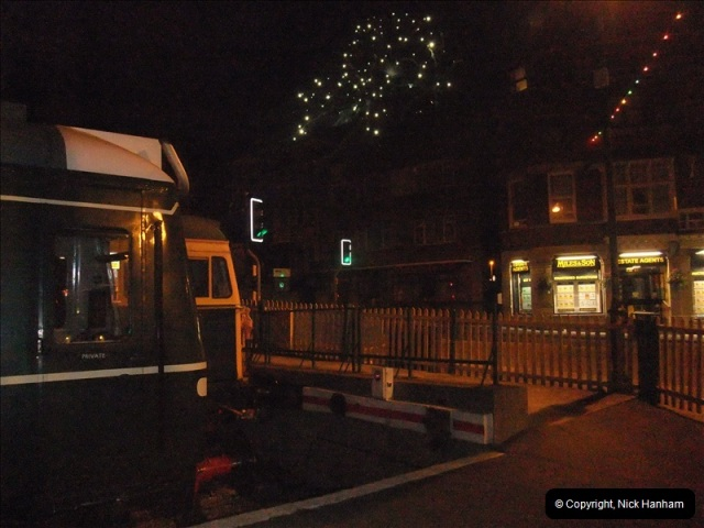 2010-08-28 Driving Late Turn DMU & Swanage Regatta Fireworks.  (16)242