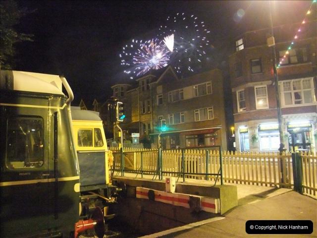 2010-08-28 Driving Late Turn DMU & Swanage Regatta Fireworks.  (17)243