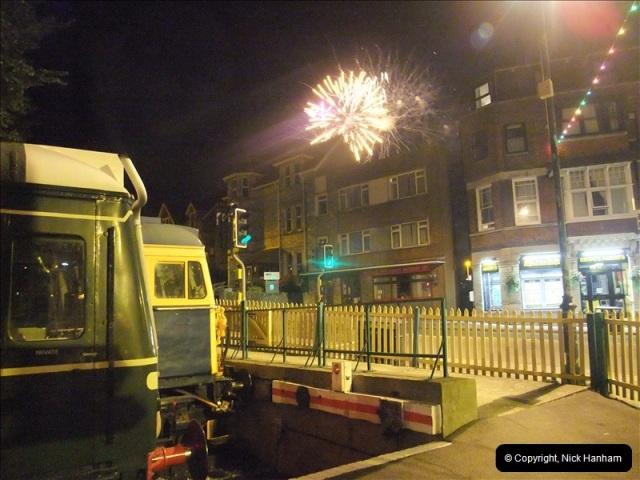 2010-08-28 Driving Late Turn DMU & Swanage Regatta Fireworks.  (18)244