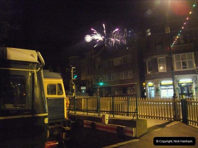 2010-08-28 Driving Late Turn DMU & Swanage Regatta Fireworks.  (19)245