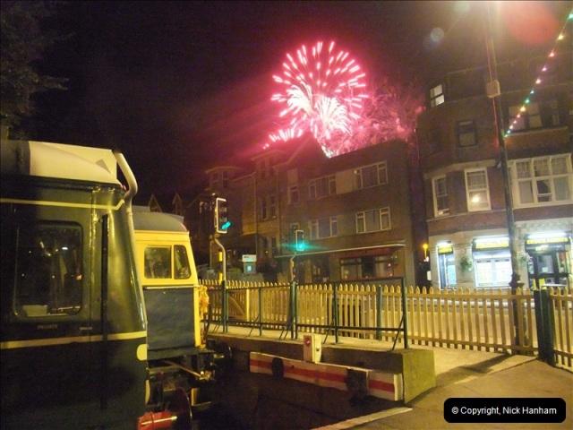 2010-08-28 Driving Late Turn DMU & Swanage Regatta Fireworks.  (20)246