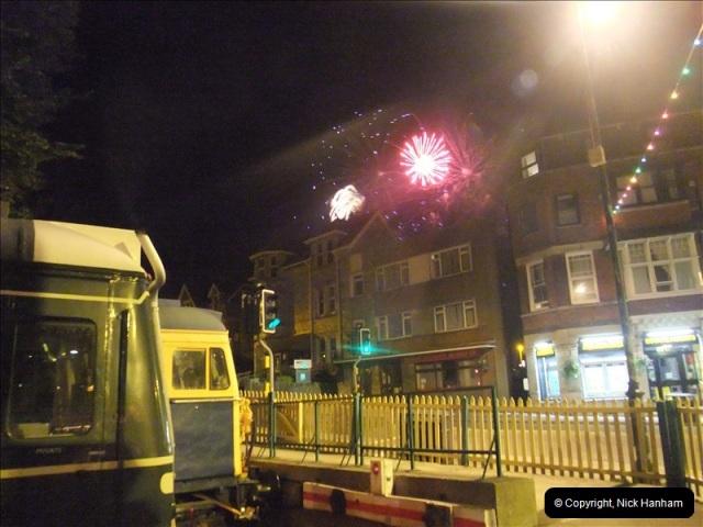 2010-08-28 Driving Late Turn DMU & Swanage Regatta Fireworks.  (22)248