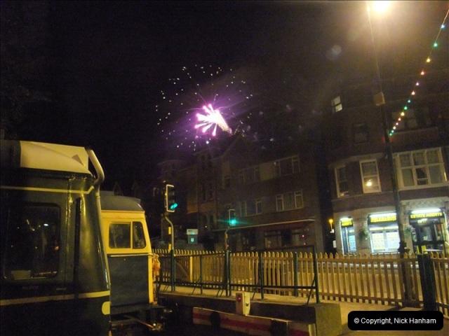 2010-08-28 Driving Late Turn DMU & Swanage Regatta Fireworks.  (23)249