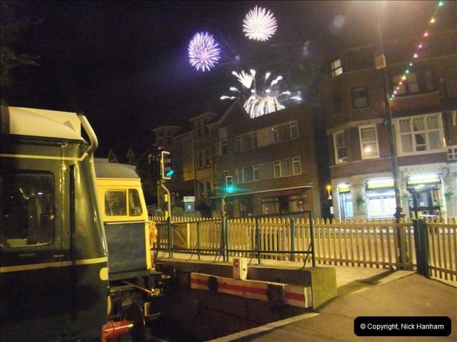 2010-08-28 Driving Late Turn DMU & Swanage Regatta Fireworks.  (24)250