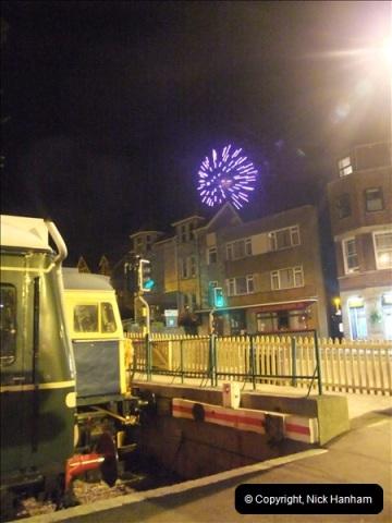 2010-08-28 Driving Late Turn DMU & Swanage Regatta Fireworks.  (25)251