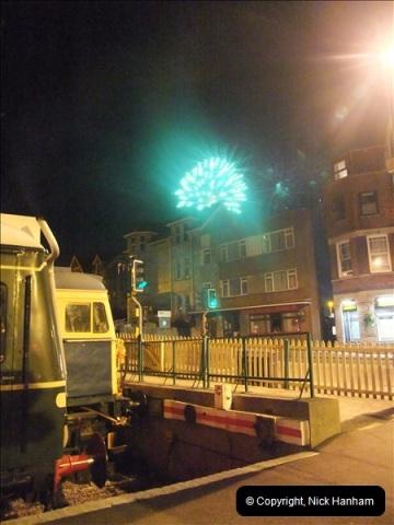 2010-08-28 Driving Late Turn DMU & Swanage Regatta Fireworks.  (26)252