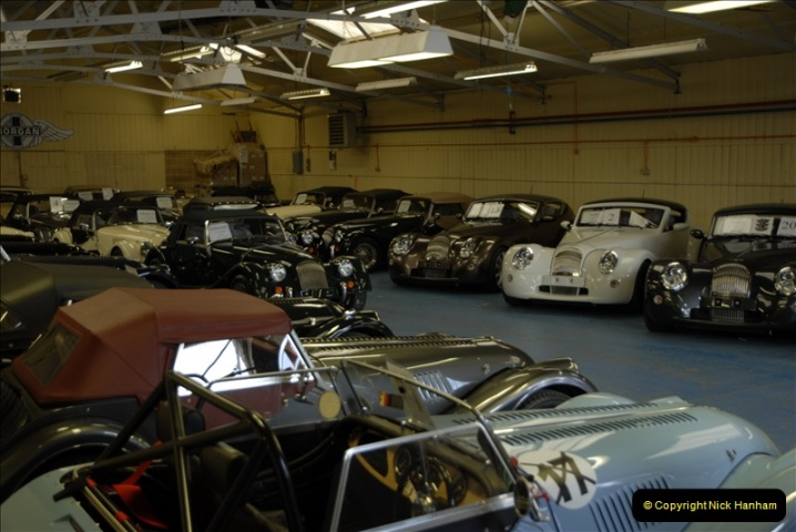 2011-07-14 The Morgan Motor Car Factory, Malvern, Worcestershire.  (50)050