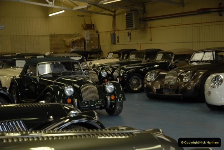 2011-07-14 The Morgan Motor Car Factory, Malvern, Worcestershire.  (52)052