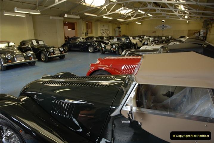 2011-07-14 The Morgan Motor Car Factory, Malvern, Worcestershire.  (54)054
