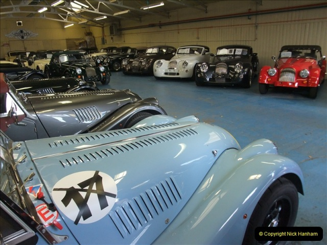 2011-07-14 The Morgan Motor Car Factory, Malvern, Worcestershire.  (56)056