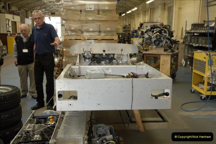 2011-07-14 The Morgan Motor Car Factory, Malvern, Worcestershire.  (69)069