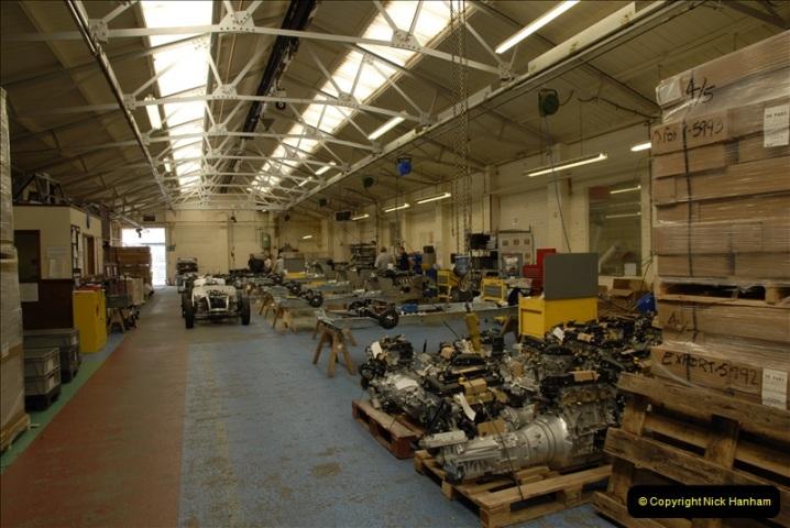 2011-07-14 The Morgan Motor Car Factory, Malvern, Worcestershire.  (72)072