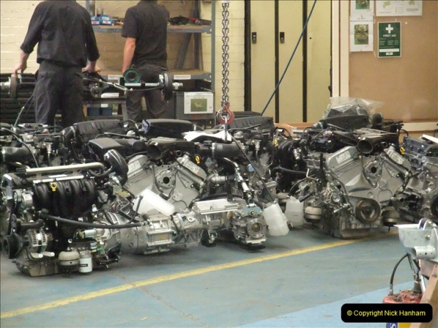 2011-07-14 The Morgan Motor Car Factory, Malvern, Worcestershire.  (75)075