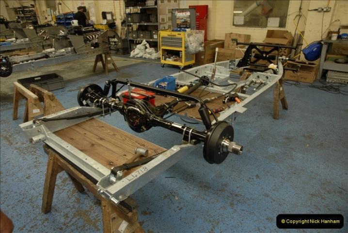 2011-07-14 The Morgan Motor Car Factory, Malvern, Worcestershire.  (76)076