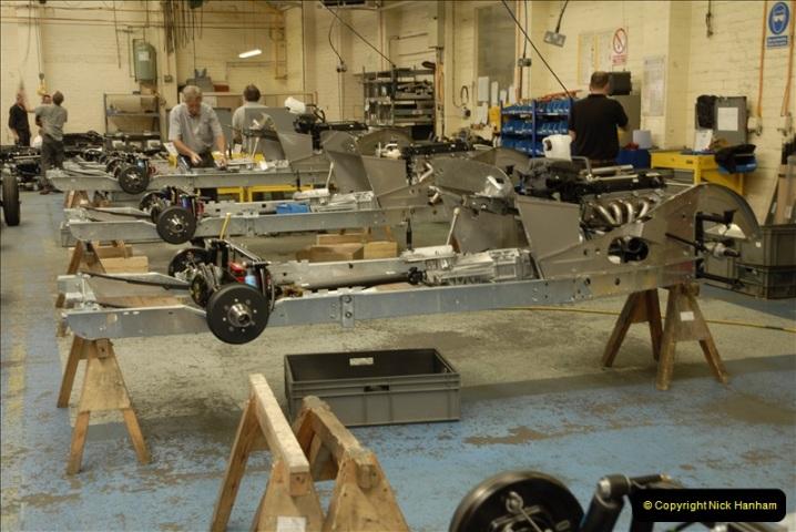 2011-07-14 The Morgan Motor Car Factory, Malvern, Worcestershire.  (77)077