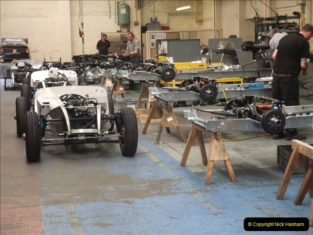 2011-07-14 The Morgan Motor Car Factory, Malvern, Worcestershire.  (79)079