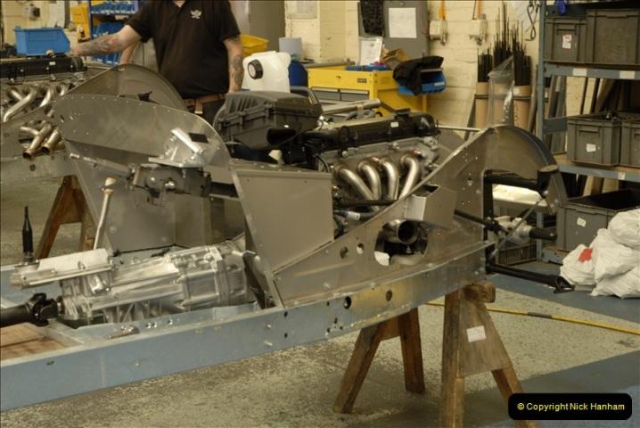 2011-07-14 The Morgan Motor Car Factory, Malvern, Worcestershire.  (90)090