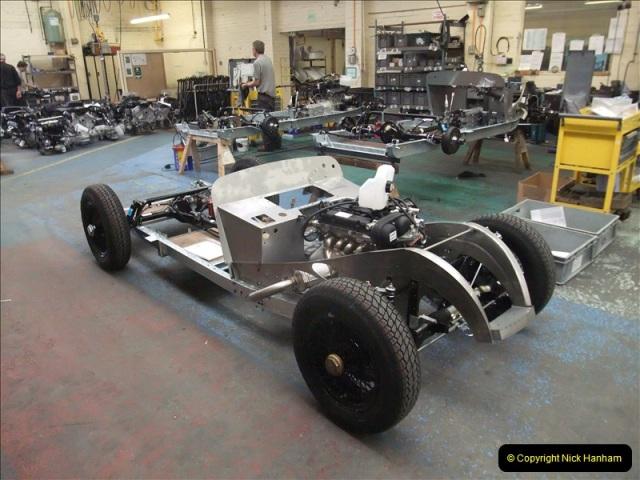 2011-07-14 The Morgan Motor Car Factory, Malvern, Worcestershire.  (98)098