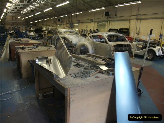 2011-07-14 The Morgan Motor Car Factory, Malvern, Worcestershire.  (102)102