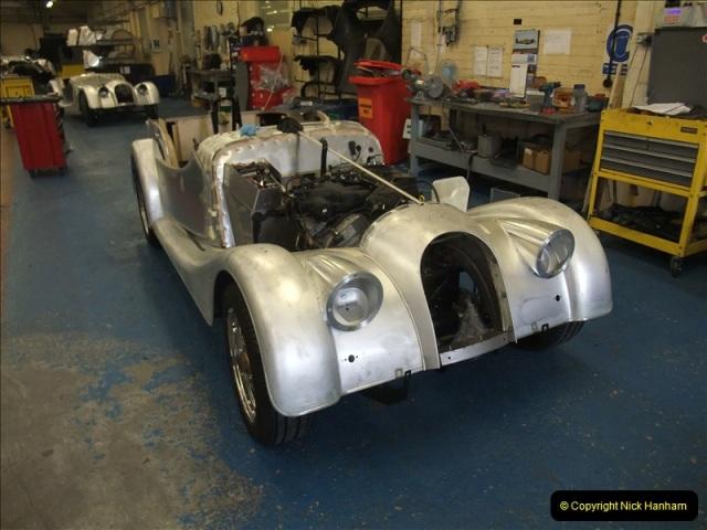 2011-07-14 The Morgan Motor Car Factory, Malvern, Worcestershire.  (109)109