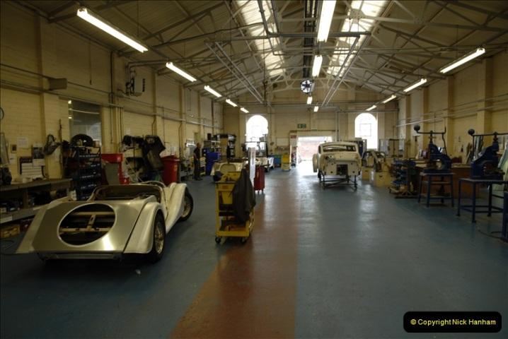 2011-07-14 The Morgan Motor Car Factory, Malvern, Worcestershire.  (121)121