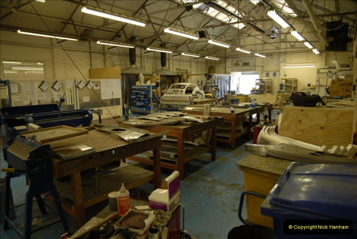 2011-07-14 The Morgan Motor Car Factory, Malvern, Worcestershire.  (122)122