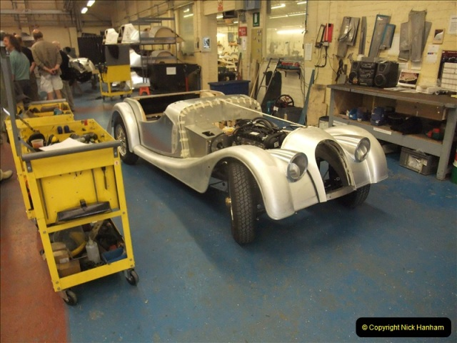 2011-07-14 The Morgan Motor Car Factory, Malvern, Worcestershire.  (129)129