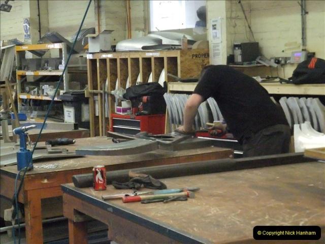 2011-07-14 The Morgan Motor Car Factory, Malvern, Worcestershire.  (154)154
