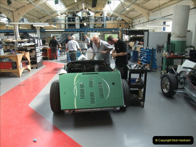 2011-07-14 The Morgan Motor Car Factory, Malvern, Worcestershire.  (181)181