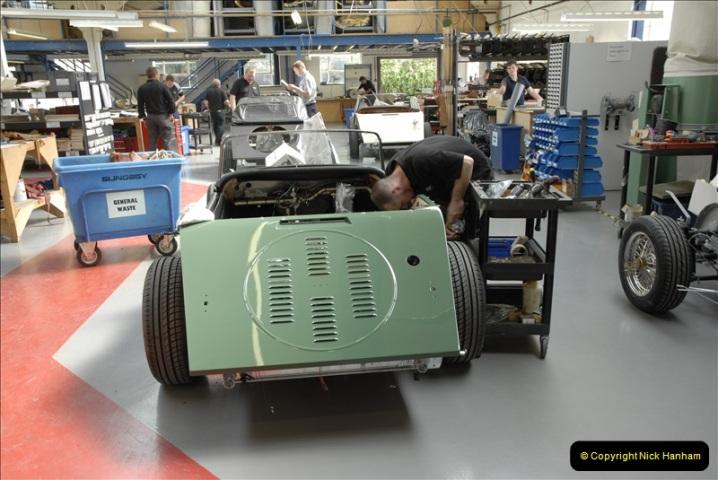 2011-07-14 The Morgan Motor Car Factory, Malvern, Worcestershire.  (182)182