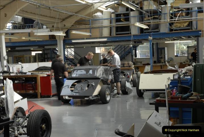 2011-07-14 The Morgan Motor Car Factory, Malvern, Worcestershire.  (186)186