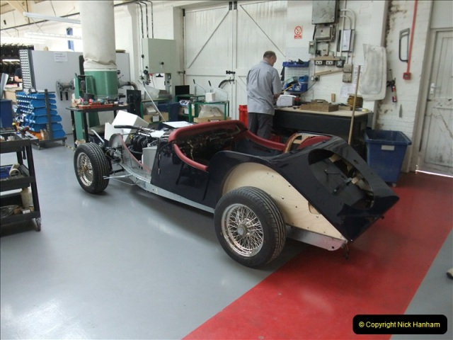 2011-07-14 The Morgan Motor Car Factory, Malvern, Worcestershire.  (189)189