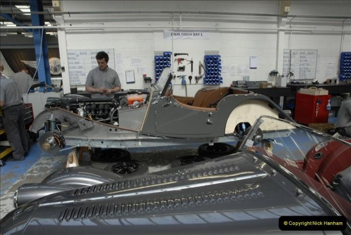 2011-07-14 The Morgan Motor Car Factory, Malvern, Worcestershire.  (201)201