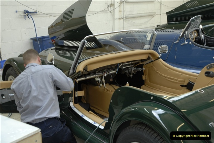 2011-07-14 The Morgan Motor Car Factory, Malvern, Worcestershire.  (202)202