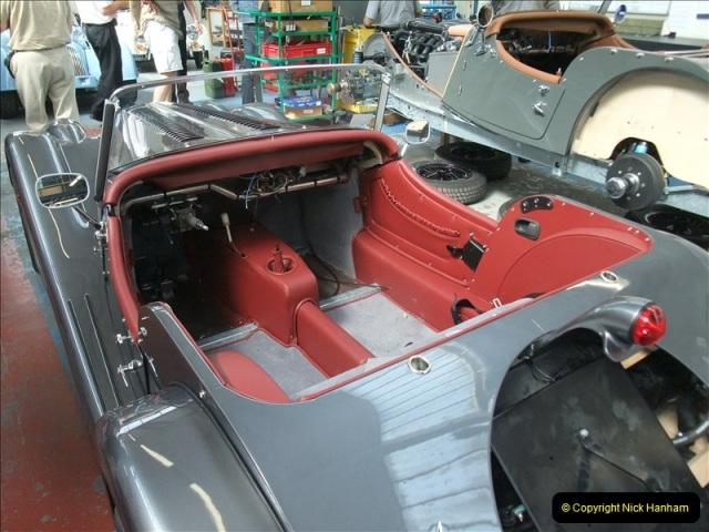 2011-07-14 The Morgan Motor Car Factory, Malvern, Worcestershire.  (206)206