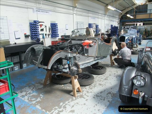 2011-07-14 The Morgan Motor Car Factory, Malvern, Worcestershire.  (207)207