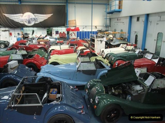 2011-07-14 The Morgan Motor Car Factory, Malvern, Worcestershire.  (213)213