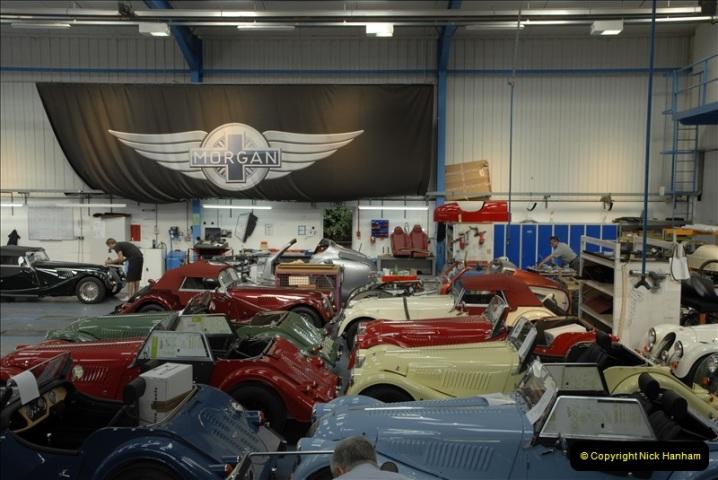 2011-07-14 The Morgan Motor Car Factory, Malvern, Worcestershire.  (214)214