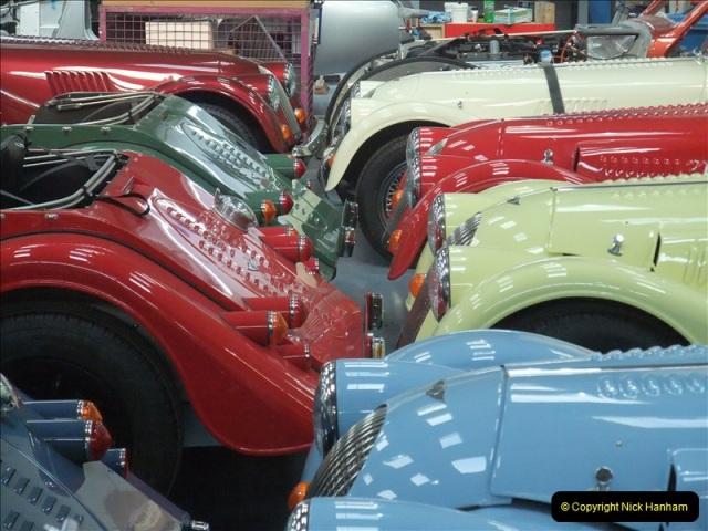 2011-07-14 The Morgan Motor Car Factory, Malvern, Worcestershire.  (215)215