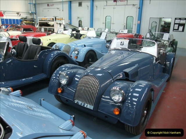 2011-07-14 The Morgan Motor Car Factory, Malvern, Worcestershire.  (216)216