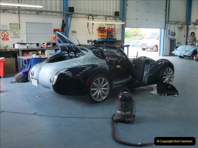 2011-07-14 The Morgan Motor Car Factory, Malvern, Worcestershire.  (218)218