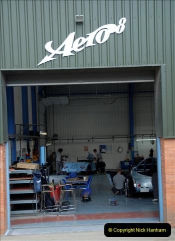 2011-07-14 The Morgan Motor Car Factory, Malvern, Worcestershire.  (220)220