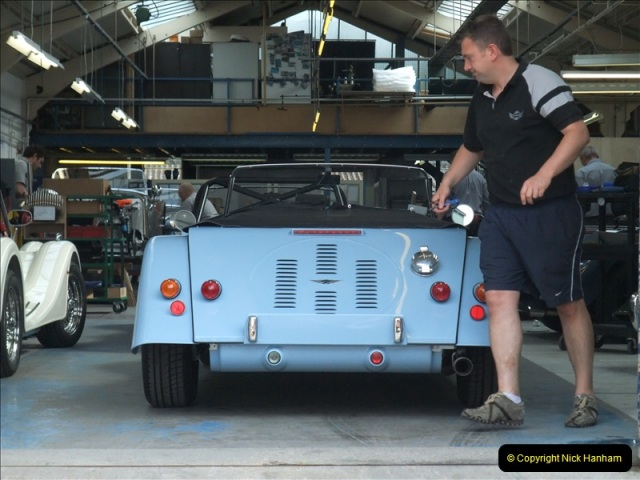 2011-07-14 The Morgan Motor Car Factory, Malvern, Worcestershire.  (221)221
