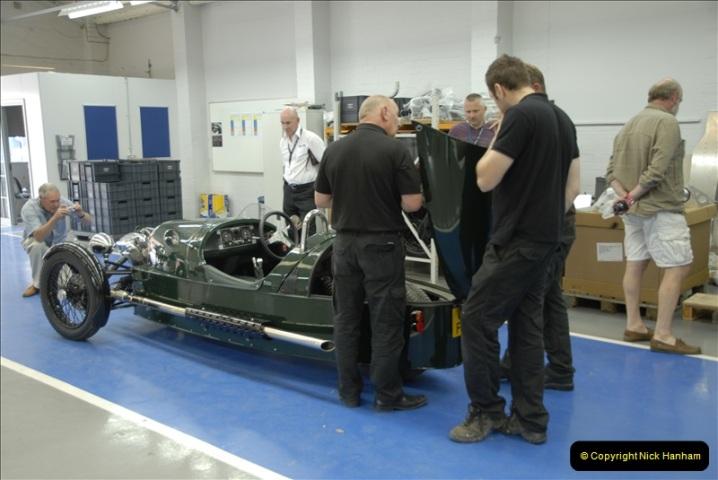 2011-07-14 The Morgan Motor Car Factory, Malvern, Worcestershire.  (232)232