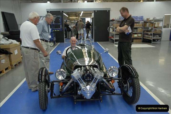 2011-07-14 The Morgan Motor Car Factory, Malvern, Worcestershire.  (237)237