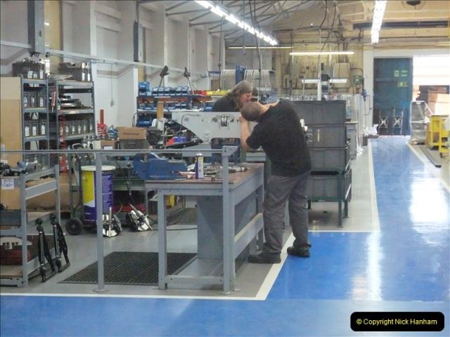 2011-07-14 The Morgan Motor Car Factory, Malvern, Worcestershire.  (251)251