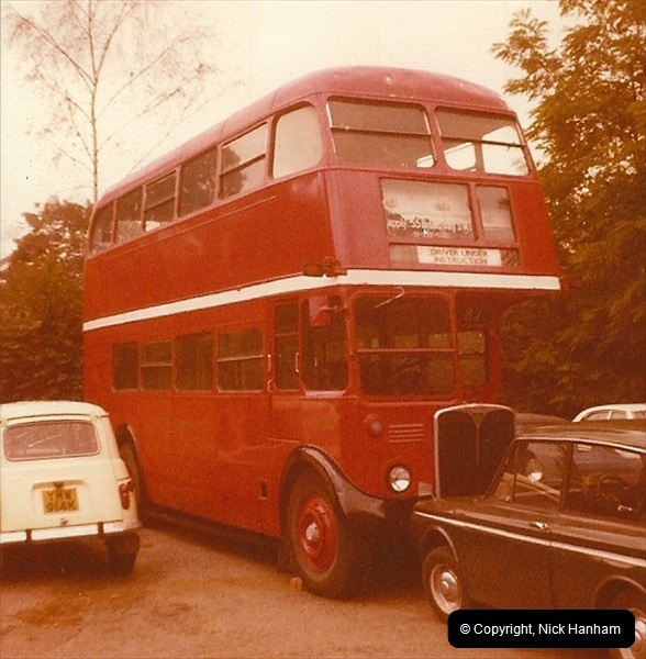 London Buses 1963 to 2007.  (2) 002