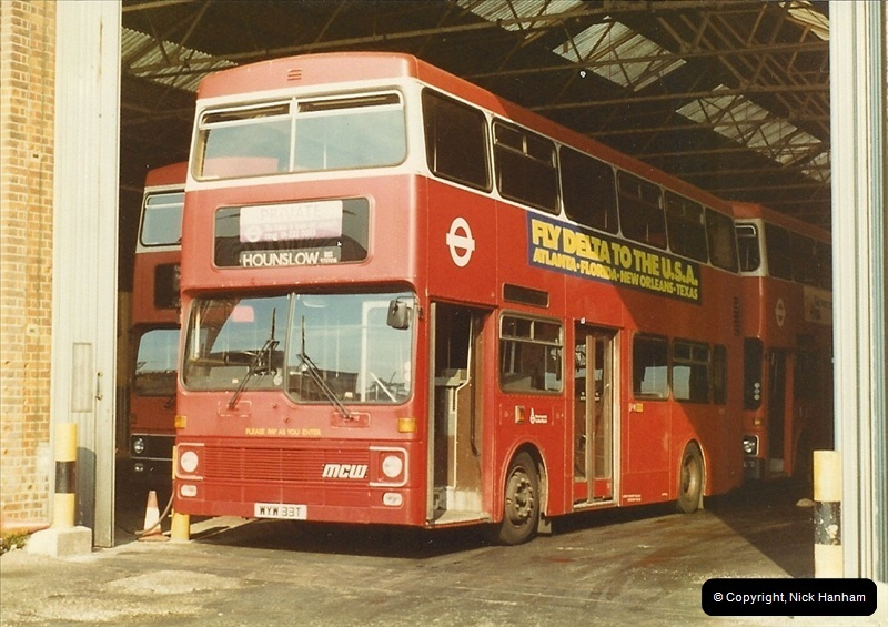 London Buses 1963 to 2007.  (11) 011