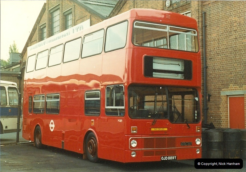 London Buses 1963 to 2007.  (13) 013
